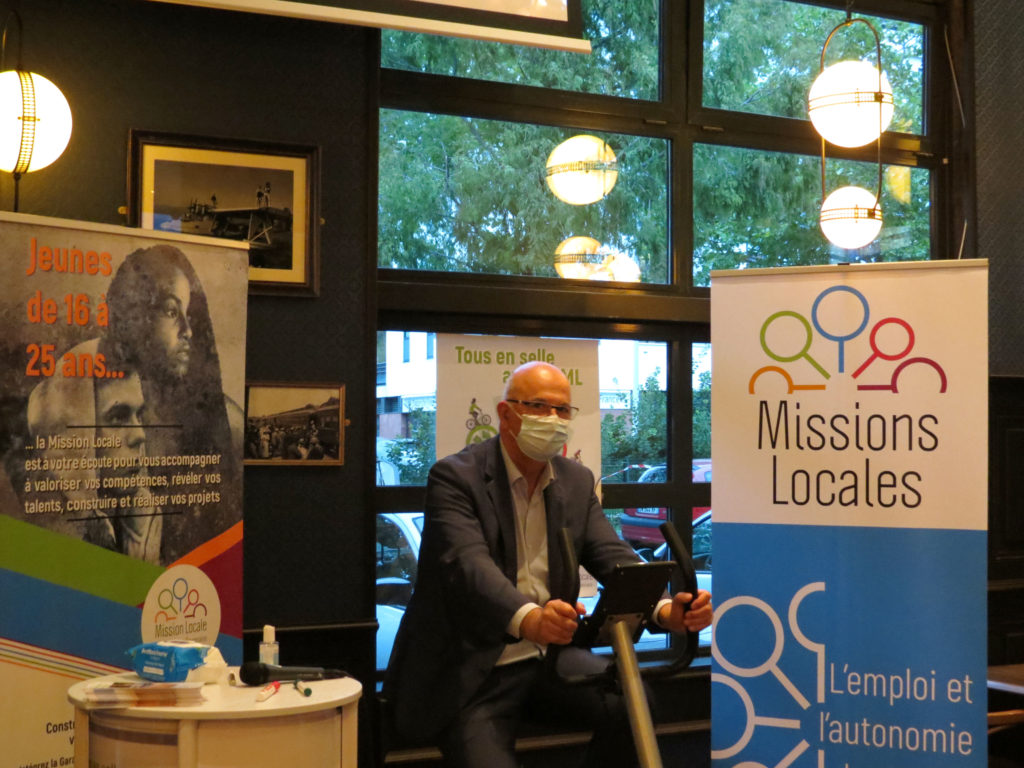 <strong>Benoit ANQUETIN</strong><br>Président de la Mission Locale